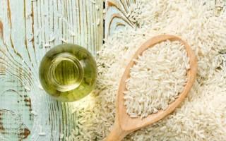 Рисовое масло – полезные свойства и питательная ценность