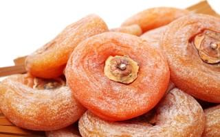Сушеная хурма: польза и вред природной конфетки