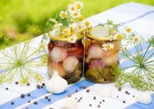 Польза и вред маринованного чеснока