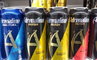 Энергетик Адреналин Раш: вред и немного эфемерной пользы