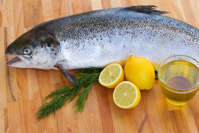 лососевая рыбка