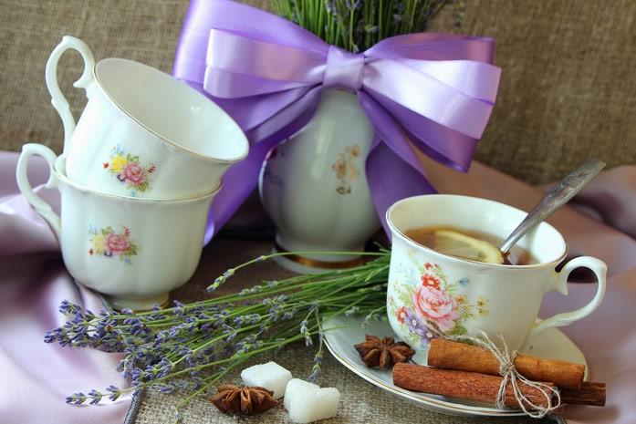 Картинки по запросу Лавандово-ромашковый чай