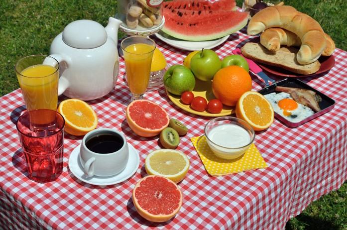 фруктовый завтрак