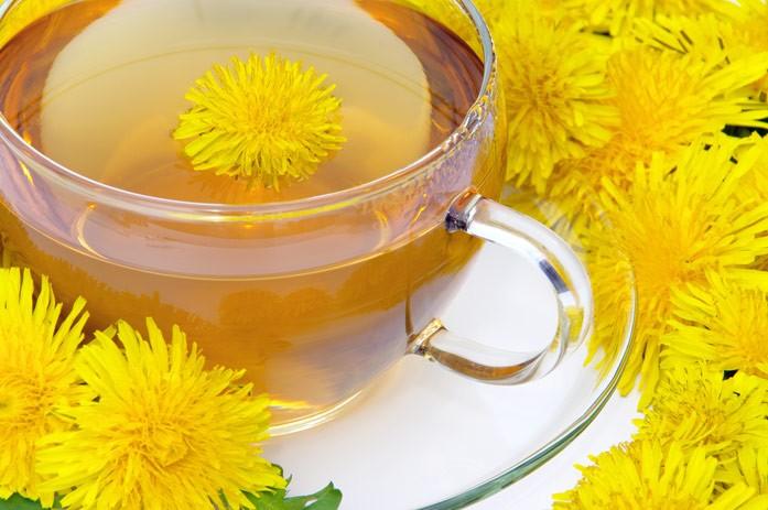 одуванчиковый чай в диете