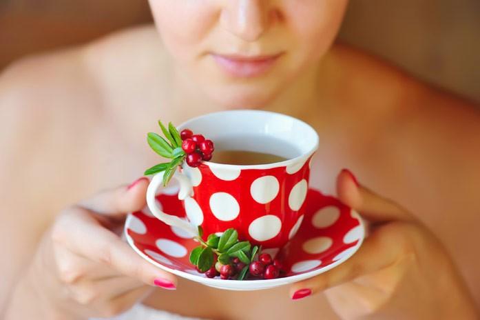 брусничный чай беременным