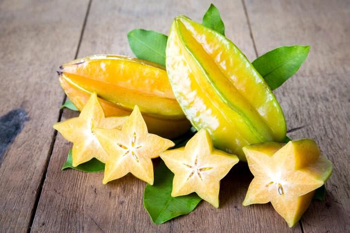 сочные плоды карамболы