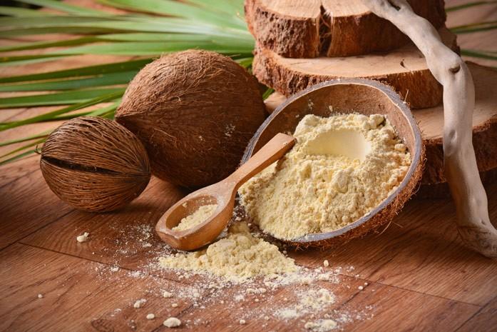 кокосы и мука