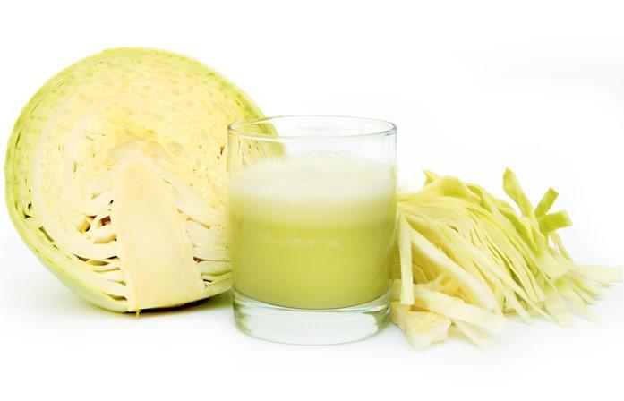сок из свежей белокочанной капусты